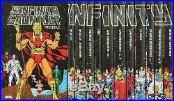 MARVEL Infinity Gauntlet Box Set Slipcase Hardcover Graphic Book Comics + Poster