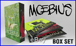 MOEBIUS Jean Giraud 2 Box sets deluxe editions 11 hardcover books YU languages