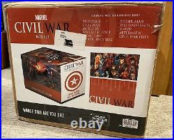 Marvel Civil War Hardcover Slipcase Box Set Complete In Box withPoster OOP