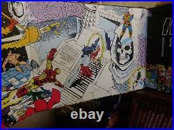 Marvel Comics Infinity Gauntlet Box Set hardcover HC set Starlin Thanos OOP