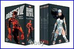 Marvel Daredevil By Frank Miller Box Set Slipcase Hardcover New Factory Sealed