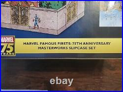 Marvel Famous Firsts Box Set Slipcase Hardcover 75th Anniversary Masterworks NEW