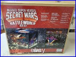 Marvel Super Heroes Secret Wars Battleworld Box Set Rare Oop Unread