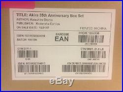 NEW AKIRA 35th Anniversary Hardcover Box Set ORIGINAL WAREHOUSE PACKAGING