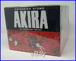 NEW Akira 35th Anniversary 2017 Manga Box Set Kodansha Comics Hard Cover