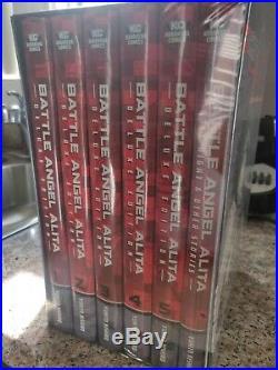 NEW Battle Angel Alita Deluxe Complete Series Box Set 2018 / Hardcover