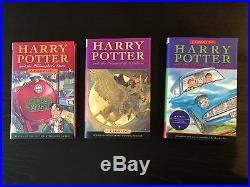 NEW Harry Potter It's Magic Trilogy Box Set 3 Hardback w Sleeve Rare