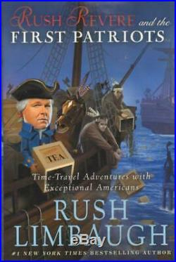 NEW Rush Revere Set of 5 Hardcover Books Limbaugh Boxed Gift Homeschool History