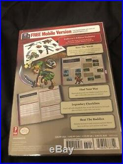 NEW SEALED Legend of Zelda Collector Box Set Prima Strategy guide Treasure Chest