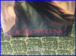 New Harry Potter Hardcover Complete Box Set in Trunk Volume 1-7 BRAND NEW MINT