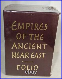 New Sealed Empires of the Ancient Near East Folio Society Box Set of 4 Books