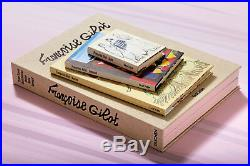 New Sealed Numbered Limited FRANCOISE GILOT THREE TRAVEL SKETCHBOOKS Box Set