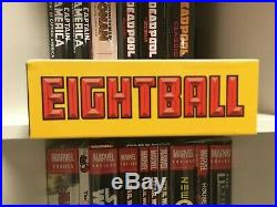 OOP The Complete Eightball 1-18 Hardcover Box Set by Daniel Clowes Fantagraphics