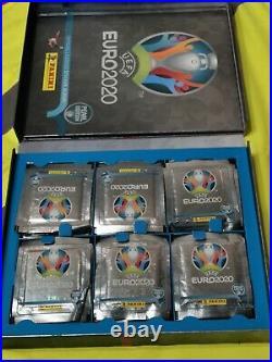 PANINI EURO 2020 Collectors Box Swiss(Pearl Edition)