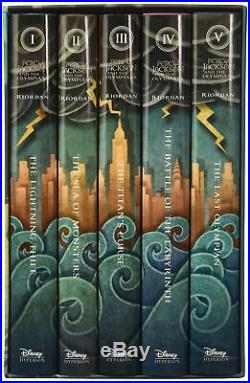 Percy Jackson and the Olympians Hardcover Boxed Set by Riordan, Rick