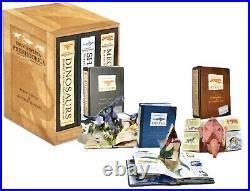 Pop Up Book Box Set Matthew Reinhart 1st Ed Encyclopedia Prehistorica Lot Rare