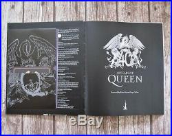 QUEEN 40 Years Of Queen Deluxe Hardback Box Set Book Slipcase CD Memorabilia