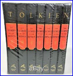 RARE The Lord of the Rings Millennium Edition Hardcover Box set NEW SEALED