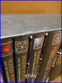 Rare Harry Potter Box Set 1-7 J K Rowling-bloomsbury Uk Adult Edition Hardcovers