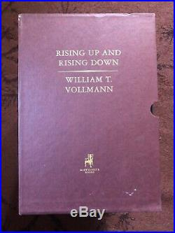 Rising Up, Rising Down Entire Boxed Like New Set of William T Vollman's Books