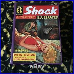 SHOCK TERROR CRIME Confession ILLUSTRATED EC Hardcover Box Set Out of Print RARE