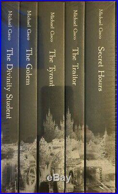 SIGNED #279 Michael Cisco Boxed 5 vol Set Centipede Press Divinity Student Golem