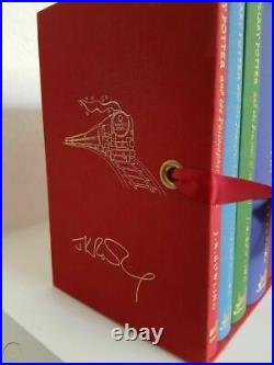 STUNNING DELUXE COLLECTOR'S EDITION Box Set 7 HARRY POTTER BOOKS 2007 RARE