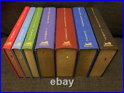 STUNNING DELUXE COLLECTOR'S EDITION Box Set 7 HARRY POTTER BOOKS 4x1st/1st 2007