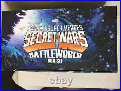 Secret Wars Hardcover (HC) Box Set Complete, Books Sealed, Pristine Marvel
