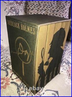 Sherlock Holmes Box Set Complete Stories Folio Society Arthur Conan Doyle