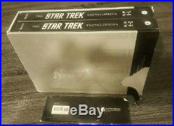 Star Trek Encyclopedia Revised and Expanded 2016 Box Set Used ACCEPTABLE