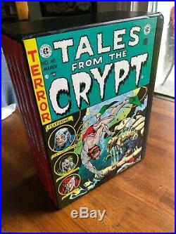 TALES FROM THE CRYPT 5 VOL. BOX SET EC HORROR LIBRARY Gemstone VF