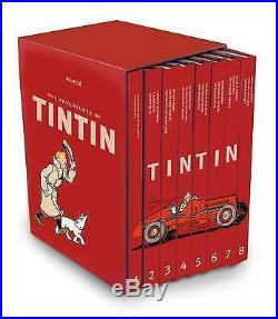 TINTIN The Tintin Collection Box Set 8 Volumes in a box set new