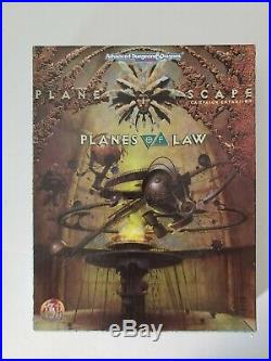 TSR AD&D 2nd Ed Planescape Box Set PLANES OF LAW (VERY RARE and COMPLETE!)