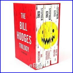 The Bill Hodges Trilogy Limited Edition Boxed Set Hardcover Rare Used Like New