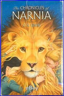 The Chronicles of Narnia Box-Set Hardcover Edition Hard Cover Book CS Lewis