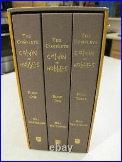 The Complete Calvin and Hobbes Hardcover Box Set Collection First Edition
