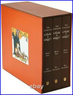 The Complete Calvin and Hobbes Hardcover Box Set Collection by Bill Watterson