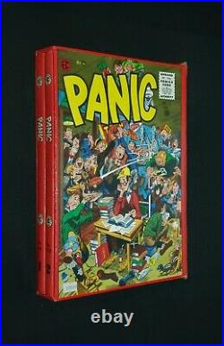 The Complete Panic Vol 1 & 2 Hc Box Set Slipcase Ec Library Russ Cochran