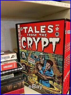The Complete Tales from the Crypt 1979 EC Comics Hardcover Box Set, Vol 1-5