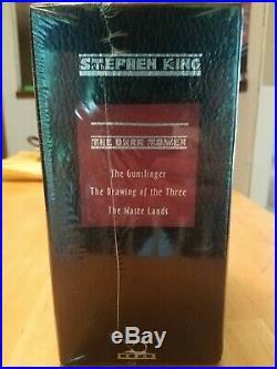 The Dark Tower Books I, II, III by Stephen King Box Set Donald Grant Publishers