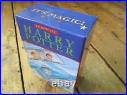 The Harry Potter Trilogy Box set Books Ted Smart First Edition 1,1,2 Print