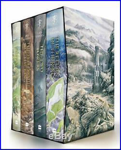 The Hobbit & Lord of the Rings Boxed Gift Set by J R R Tolkien