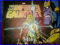 The Infinity Gauntlet NEW Hardcover Box Set Marvel Graphic Novel Comic Book