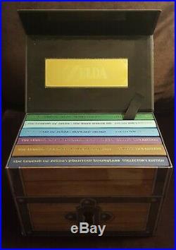 The Legend of Zelda Prima Collector's Edition Strategy Guide Chest Box Set RARE