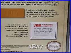 The Legend of Zelda Prima Strategy Guide Hardcover Collector's Edition Box Set