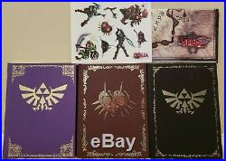 The Legend of Zelda Prima Strategy Guide Lot of 13 with Hardcover Box Set