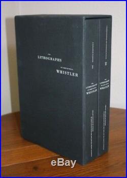 The Lithographs of James McNeill Whistler Raisonné Box Set 1 & 2 Martha Tedeschi