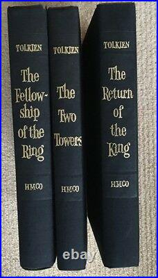 The Lord of the Rings Boxed Set 2nd Edition(1965)