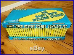 The Nancy Drew Mystery Series 56 Books Novels In Orginal Box Full Set Collectors